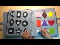 quiet book for Vlad Diy Quiet Books, Baby Quiet Book, Felt Books, Baby Learning Activities, Preschool Activities, Book Crafts, Diy And Crafts, Fun Projects For Kids, Boyfriend Crafts