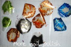 More Nail Polish: Black and Gold dry water marble Marble, Nail Polish, Nail Art, Nails, Water, Fun Stuff, Decals, Gold, Black