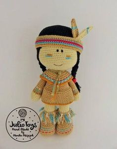 Lozen Indian Girl pdf pattern