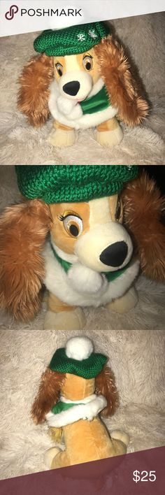 Lady and the Tramp Plush This is an authentic Disney plush for Lady and the Tramp. Item comes from a clean, smoke free home and has been stored in plastic. If you have any questions, please let me know. Thank you! Disney Other