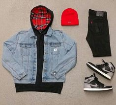 """WEBSTA @ wdywt - or : by our feed, hit link in bio. 1 """"Shadow"""" for on-feet and model photos for outfit lay down photos Summer Swag Outfits, Dope Outfits For Guys, Casual Outfits, Fashion Outfits, Hype Clothing, Mens Clothing Styles, Stylish Men, Men Casual, Urban Fashion"""