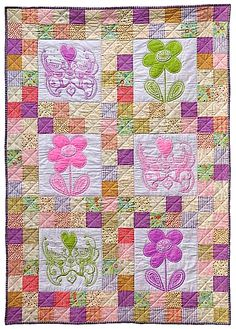 Quilt Story: Absolutely a little girls quilt