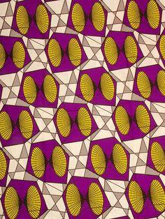Africain tissu Super Deluxe Wax Print 6 mètres par Africanpremier, $29.99