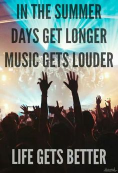 its all about the music........it makes everyday just better somehow.