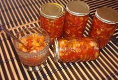 Hřibová čalamáda tety Liduš Salsa, Jar, Food, Red Peppers, Essen, Salsa Music, Meals, Yemek, Jars