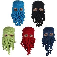 $5.21 (Buy here: https://alitems.com/g/1e8d114494ebda23ff8b16525dc3e8/?i=5&ulp=https%3A%2F%2Fwww.aliexpress.com%2Fitem%2FFashion-Novelty-Unisex-Octopus-wool-hats-Men-women-Winter-Warm-Knitted-Wool-Ski-Face-Mask-Hats%2F32563750918.html ) Fashion Novelty Unisex Octopus wool hats Men women Winter Warm Knitted Wool Ski Face Mask Hats Squid Caps for just $5.21