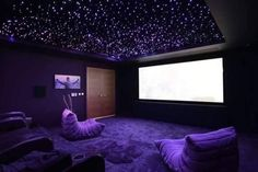 Home Theater Room Design, Movie Theater Rooms, Home Cinema Room, Home Theater Decor, Home Theater Seating, Home Theatre, Cinema Room Small, Small Movie Room, Home Decor