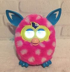 2012 Hasbro Furby Boom Pink Talking Electronic Interactive Toy Works See Video