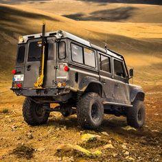 absurdiem:  Land Rover Defender. Via 500px.  #landrover #offroad #trucks #cars #tw