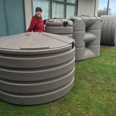 From left to right: 660, 205 and 265 gallons. The 265 is also a slim line model, only 25 inches deep