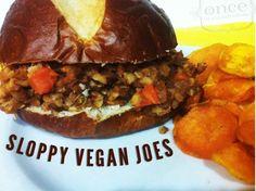 Sloppy Vegan Joes #freezercooking #vegan #slowcooker #crockpot