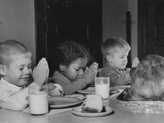 Four year olds from Day Nursery Association celebrate Thanksgiving in this 1966 photo.