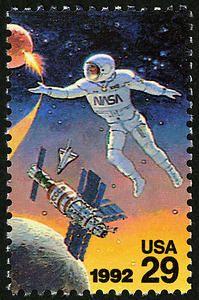 29c Astronaut single