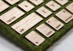 Moss Covered Keyboard Brings a Little Nature to Your Desk Job