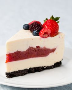 Cherry Pie-Filled Cheesecake Recipe by Tasty