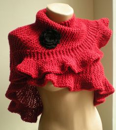 this is lovely, but knitted. I need crochet.