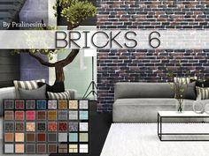 Bricks 6 by Pralinesims at TSR via Sims 4 Updates