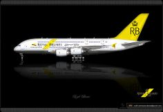 Royal Brunei Airlines / Airbus A380 / Livery Concept