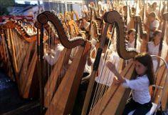 El arpa paraguaya es un emblema cultural que representa no solamente al Paraguay como nación y a su música tradicional, sino que también a los ideales que contribuyen a una noción colectiva de paraguayidad. El arpa se constituye en un aspecto fundamental del orgullo que los paraguayos sienten hacia el territorio nacional, la memoria histórica colectiva, la realidad bilingüe de los idiomas Guaraní y Español, los paisajes naturales, y el rico legado de las tradiciones folclóricas.