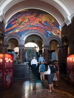 "Armenia - Matenadaran Museum. This is a ""must see"" if you visit Yerevan.  It has a  collection of 17,000 manuscripts covering ancient and medieval  Armenian and other cultures.  You will see the most amazing examples  of handwritten and illustrated books through the centuries."