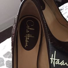 Cole Han Brown Pumps. Brand New!
