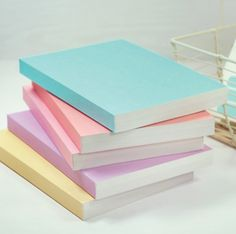 Simple Pastel Notebook from MochiThings. Saved to Wishlist Things. Shop more products from MochiThings on Wanelo. Plain Notebook, Cool School Supplies, Office Supplies, Cute Stationary, Stationary Notebook, Stationary Items, Cute Notebooks, Day Planners, Too Cool For School