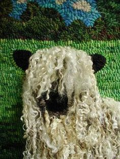 use this type yarn (in correct color) for highland Scottish cattle