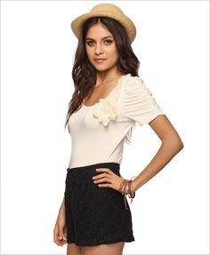 would love to wear this WHEN i become thinner. LOL!
