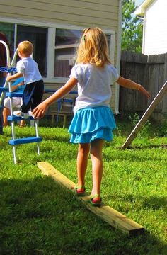 How to Make Your Own Backyard Obstacle Course