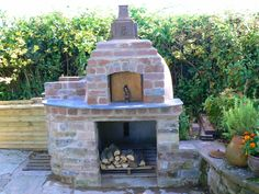 Build your own wood burning pizza oven