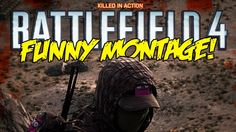 Battlefield 4 Funny Montage! - Crane Troll, Flaming badger, Playing with...
