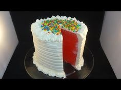 How To: Make Watermelon Cake
