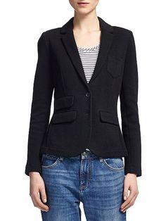 Double Faced Jersey Jacket