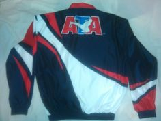 Taekwondo American Association ATA Martial Arts Red White Blue M Jacket MMA  #ATA