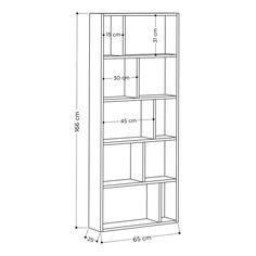 Hashtag Home Aadvik Bookcase & Reviews Wall Bookshelves, Wood Shelves, Floating Shelves, Bookcase, Bedding Sets Uk, Framing Materials, Storage Organization, Decorative Items, Floor Plans