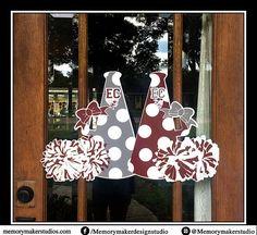 Cheer Camp Door Hanger Cheerleader door hanger Cheer door