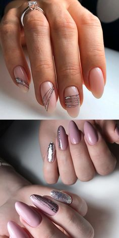 Gel manicure spider web – Arts Nails - Famous Last Words Gel Nail Art Designs, Elegant Nail Designs, Elegant Nails, Classy Nails, French Acrylic Nails, Pink Acrylic Nails, Almond Acrylic Nails, Pink Nails, Hair And Nails