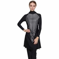 f5ca58b9575 2019 Modest Full Cover Muslim Swimwear Plus Size Female Swimsuit Beach Bathing  Suit Burkinis for Muslim