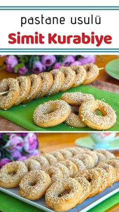 Sesame Simit Kurabiye (with video) How to make a recipe? Here is a description of this recipe in the book of 397 people and the photos of the experimenters. Coffee Break, Biscotti, Cookie Recipes, Food To Make, Yogurt, Sausage, Vegetarian Recipes, Cookies, Meat