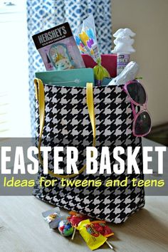 Easter Basket Ideas for Tweens and Teens - What they really want! - Easter Basket Ideas for Tweens and Teens – What they really want! You are in the right place about - Easter Party, Easter Gift, Easter Treats, Easter Decor, Easter Centerpiece, Easter Table, Hoppy Easter, Easter Bunny, Easter Eggs