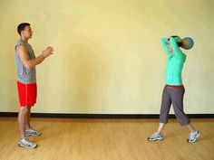 Fun medicine ball exercise for toned triceps
