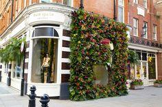 Gorgeous Kate Spade Flower window display