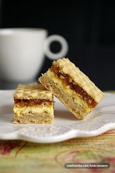 """The prodigal cube """"As others turned out - Coolinarika Macedonian Food, Dessert In A Jar, Croatian Recipes, European Style, Cube, Cheesecake, Deserts, Cooking Recipes, Sweets"""