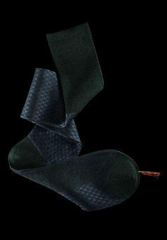 William Abraham - Luxury Socks for Men ● ROYAL / FOREST