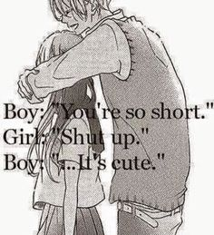 cute couple anime quotes The Random Vibez gets you the best collection of Cute Couple Quotes, Wallpapers, Images, Pictures for you to share and dedicate to your love of your life. Cute Love Quotes, Cute Couple Quotes, Cute Couple Comics, Cute Couple Things, Cute Couple Art, Cute Relationship Goals, Cute Relationships, Relationship Quotes, Healthy Relationships
