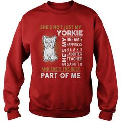 MY YORKSHIRE TERRIER IS THE BEST PART OF ME CREW SWEATSHIRTS T-SHIRTS, HOODIES ( ==►►Click To Shopping Now) #my #yorkshire #terrier #is #the #best #part #of #me #crew #sweatshirts #Dogfashion #Dogs #Dog #SunfrogTshirts #Sunfrogshirts #shirts #tshirt #hoodie #sweatshirt #fashion #style