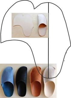 Fabric Crafts 12 simple craft ideas for home improvement that you should know - .,Fabric Crafts 12 simple craft ideas for home improvement that you should know - New design f . Innovative Home Decor Ideas Decorating homes may appe. Easy Crafts, Easy Diy, Simple Diy, Shoe Pattern, Leather Slippers, New Home Designs, Leather Working, Leather Craft, Diy Leather Shoes