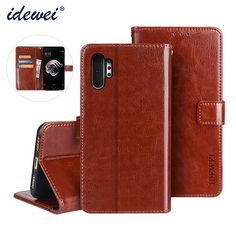 Galaxy Note 10, Galaxy Note 10 Pro Idewei Phone Cases Wallets Folio Flip Magnetic Synthetic Leather Card Holder Folding Stand Business | | Casefanatic