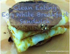 Clean Eat Recipe :: Quick Breakfast Sandwich Ideas ~ He and She Eat Clean