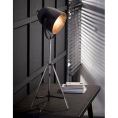 Duverger Industry - Vloerlamp - metalen statief - oud zilver Vintage, Lighting, Home Decor, Desk, Retro, Crafts, Ideas, Ceiling Lights, Nice Asses